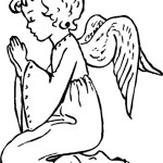 Relive the fantasy world with these images of Angel 20 Angel coloring pages