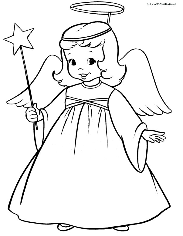 Angel with her magic wand