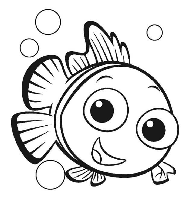 pretty Coral coloring page for kids