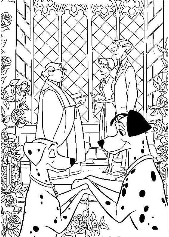 101 Dalmatians Coloring Pages 6 | Disney coloring sheets, Disney ... | 794x567