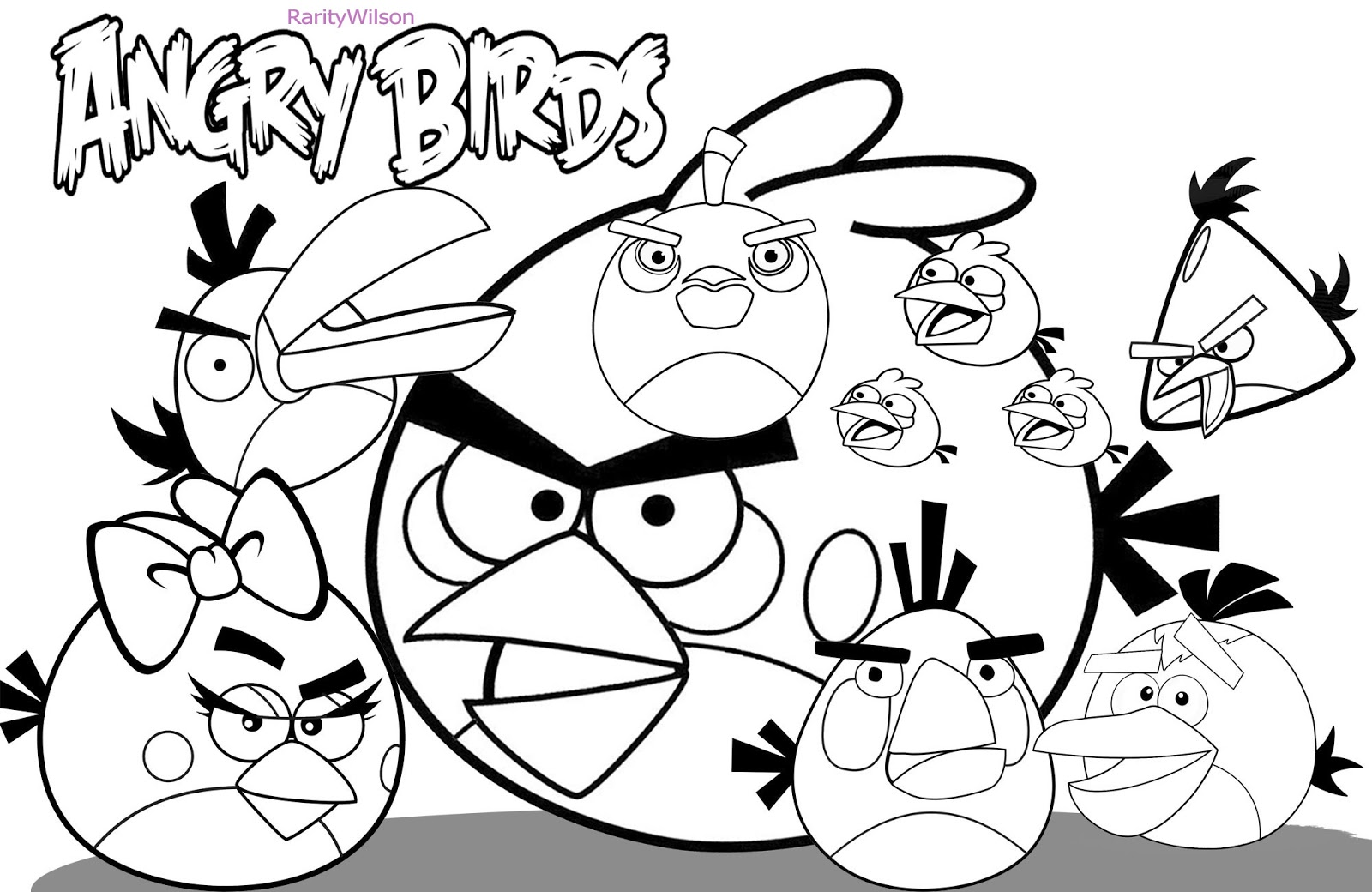 all angry birds red with friends