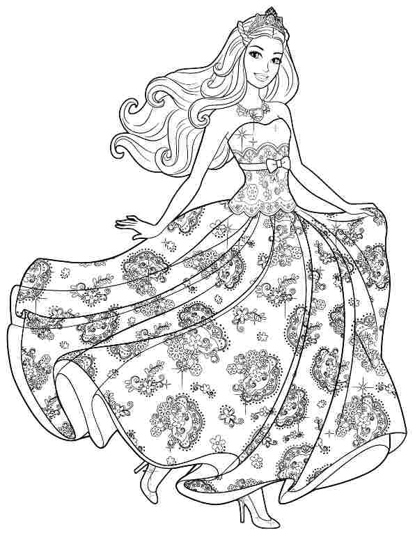 barbie pegasus coloring pages barbie pegasus barbie. free ...