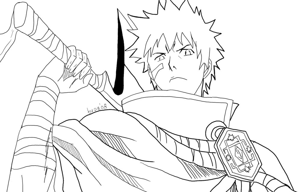 bleach coloring pages Bleach coloring pages 7 – Free Printables bleach coloring pages