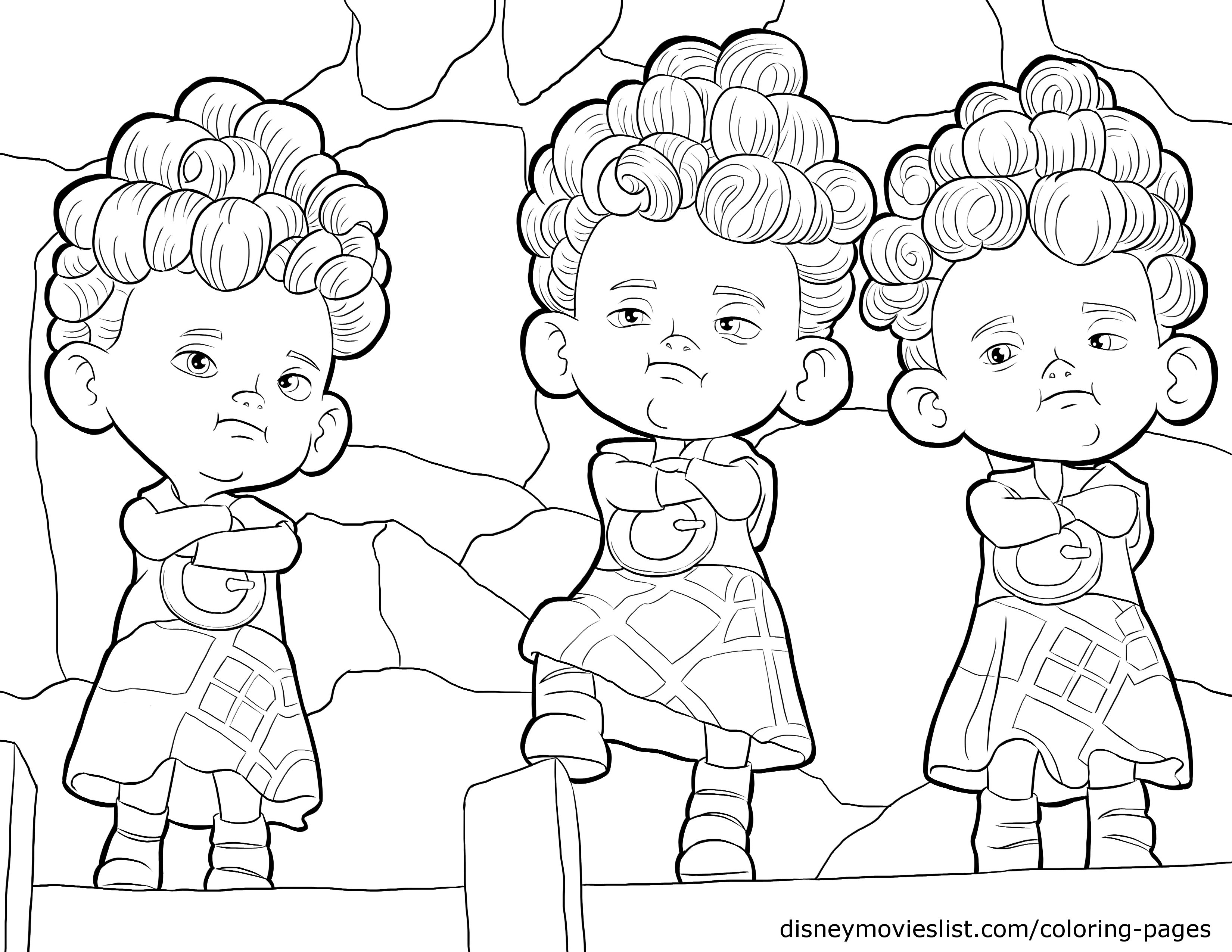 Story of a courageous girl Brave 22 Brave coloring pages | Free ...