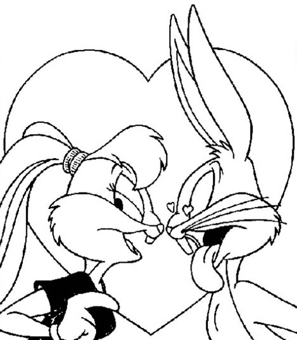 Bugs Bunny and Lola all grown up!