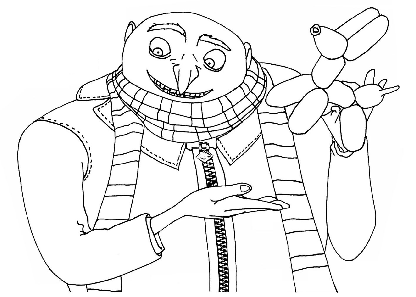 despicable-me coloring pages copy arianna - Free Printables