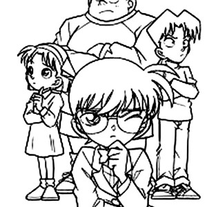 Sunichi Kudo & his detective team