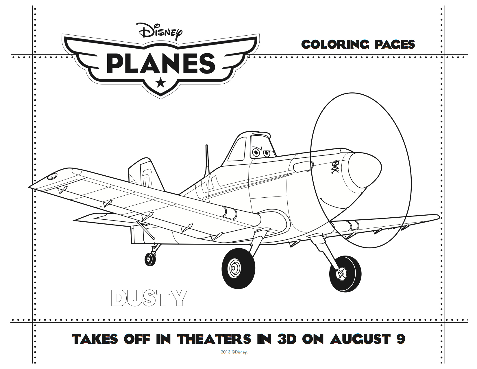 Dusty  Chrophopper in Disney Planes