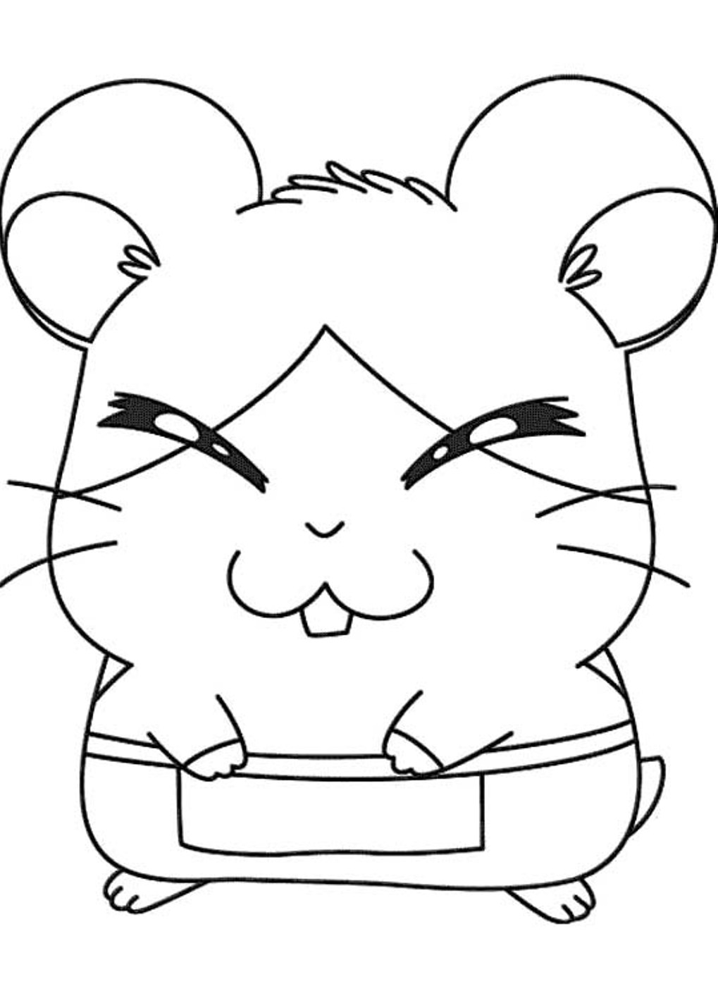 Story of friendship and bonding of a hamster Hamtaro 20