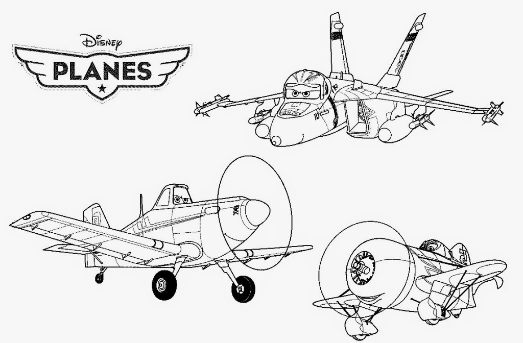 Disney coloring page for kids