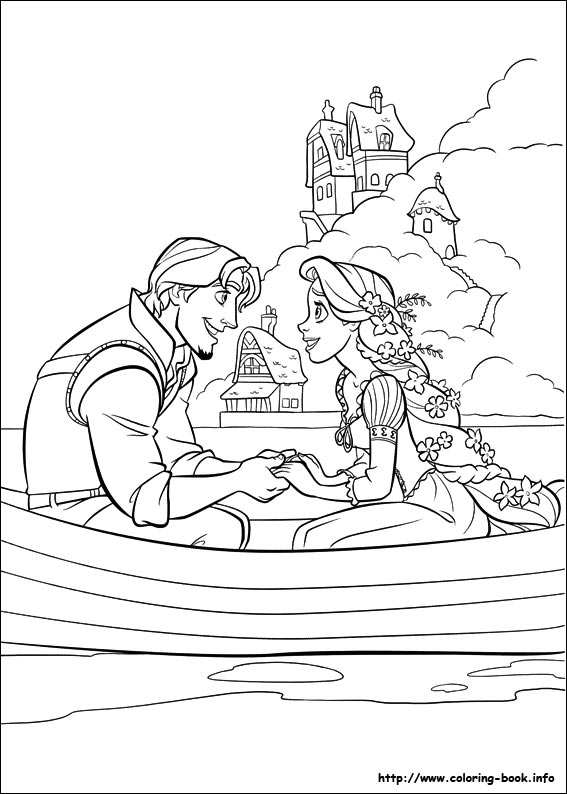 Eugine & Rapunzel boating togather