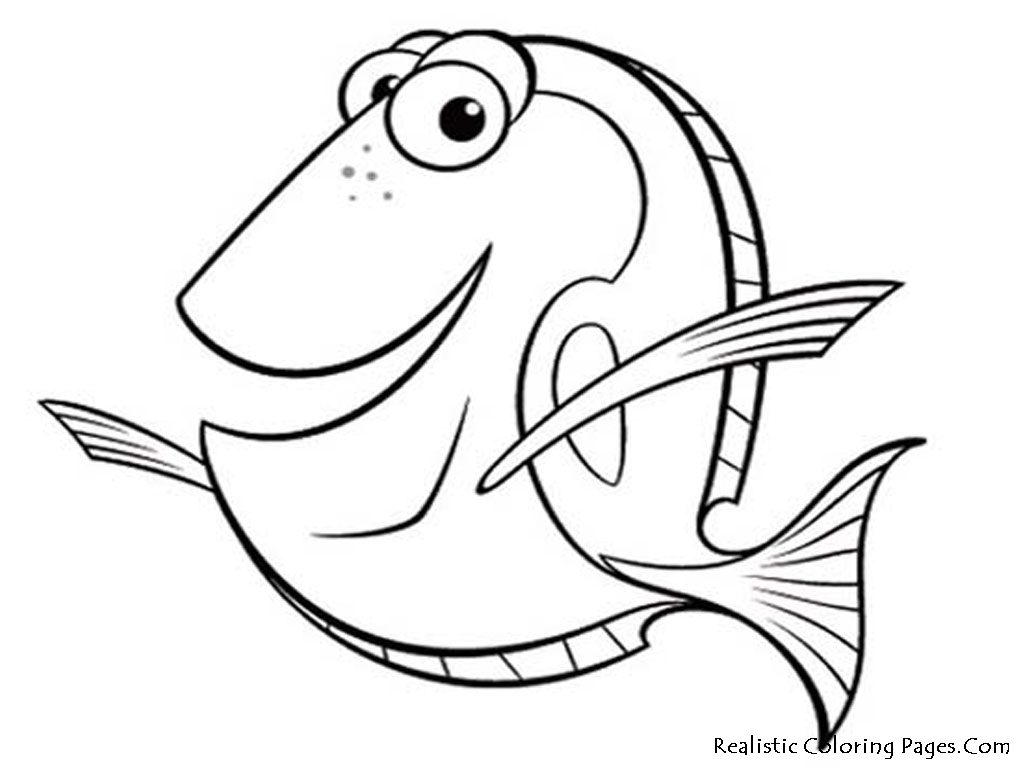 Fish coloring pages 7 free printables for Free coloring fish pages