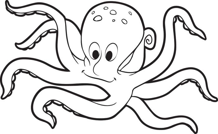 29 Fish And Octopus Coloring Pages For Kids Free Printables Octopus Coloring Pages