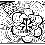 Elicit the artist in you with these Abstract images 20 Abstract coloring pages