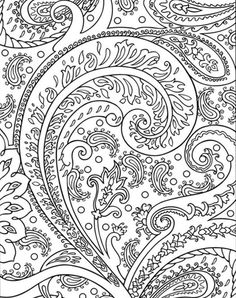 Awesome Abstract Image Coloring Page
