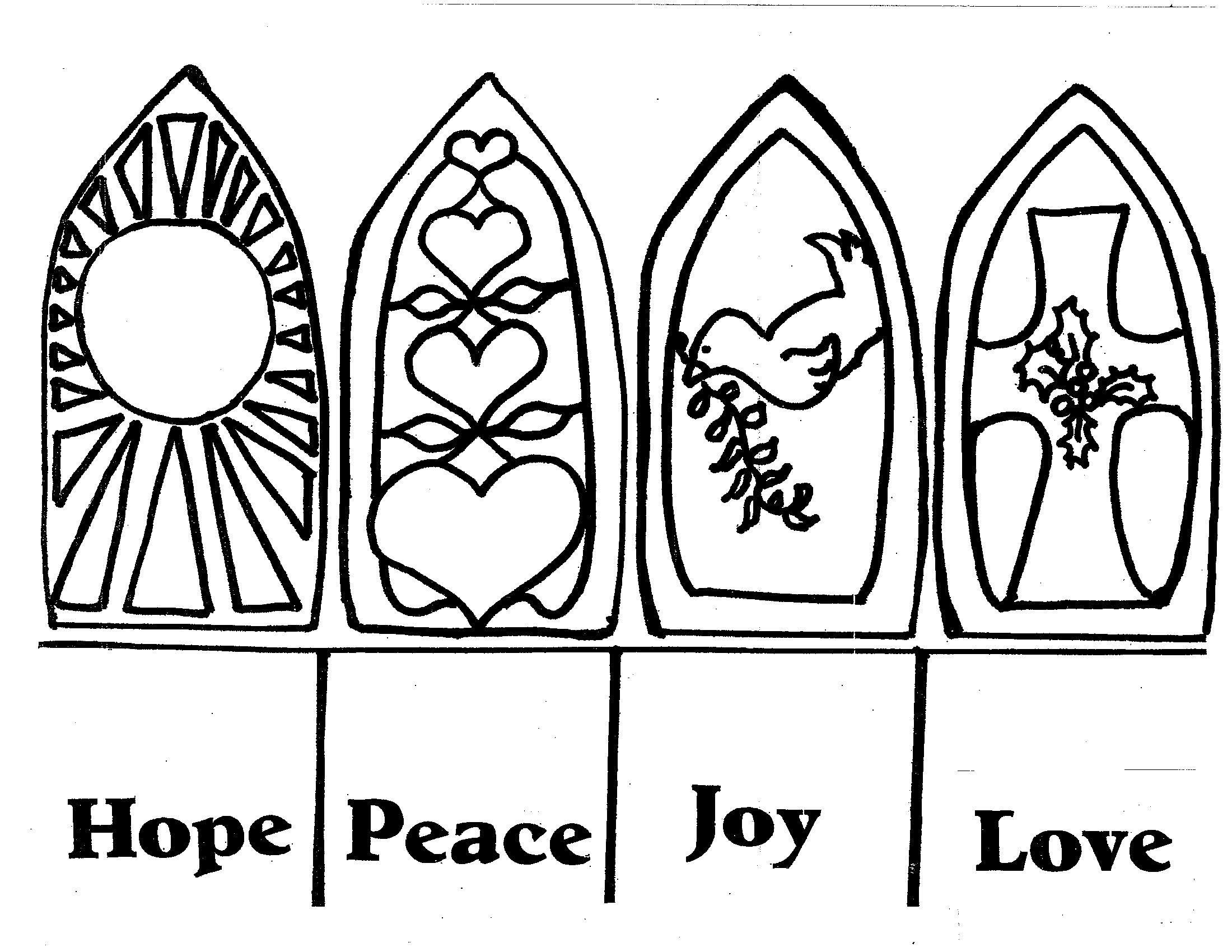 Love Peace Hope Ring
