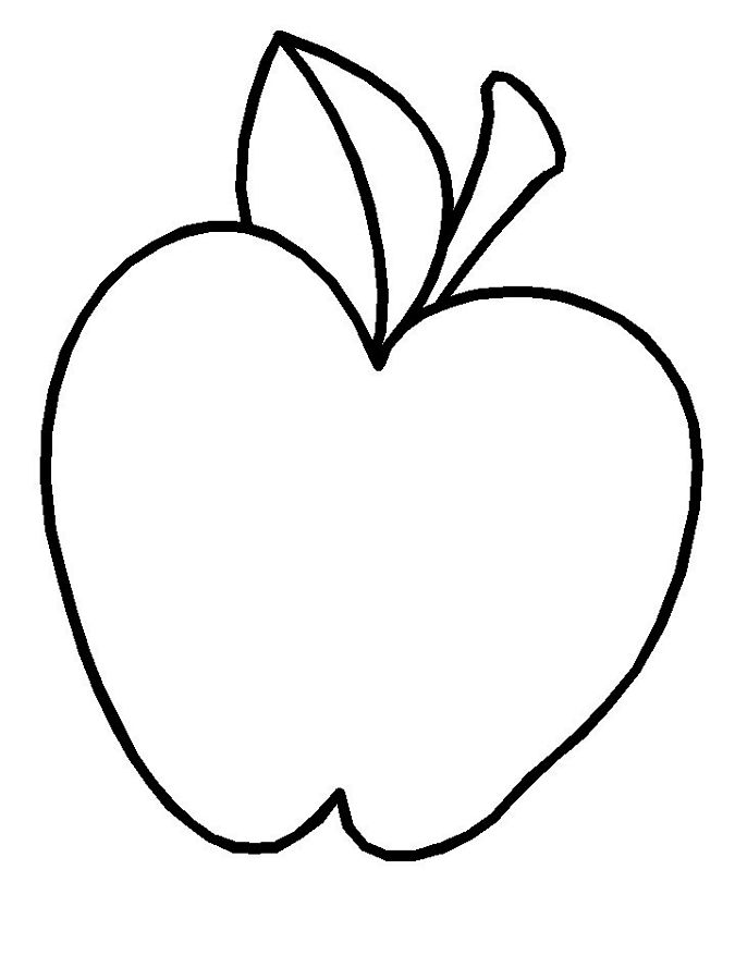Apple coloring paage