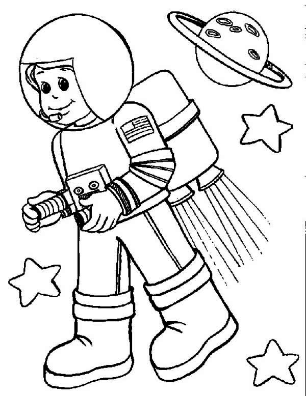 reveal the mystery of the sky with astronaut 20 astronaut coloring on cartoon astronaut coloring pages