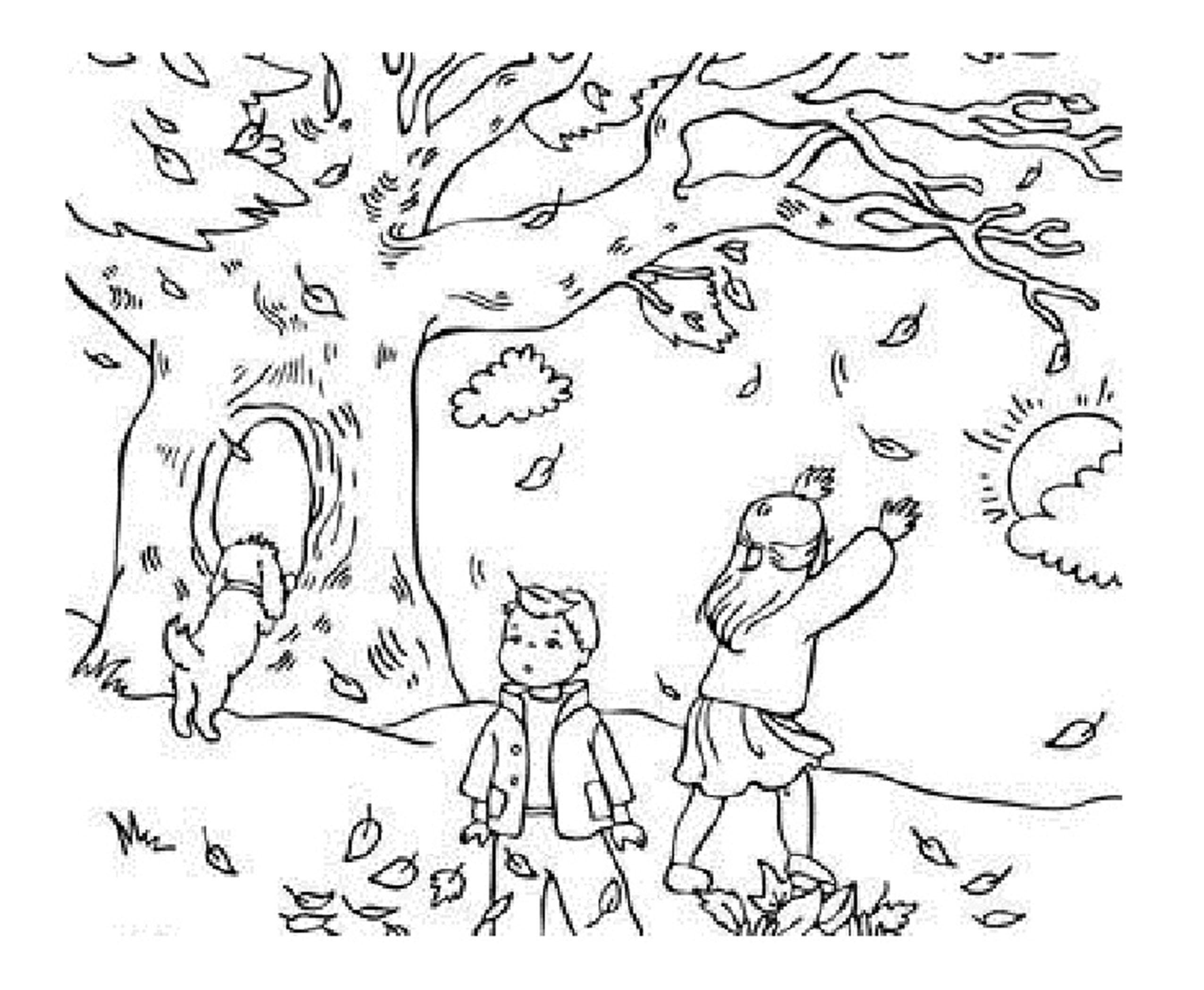 Four Seasons Colouring Page | Seasons worksheets, Seasons lessons ... | 2096x2550