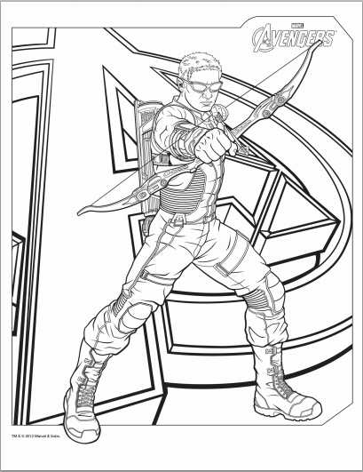 avengers coloring pages by connor – Free Printables