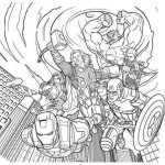 Thrilling adventure of superheroes Avengers 20 Avengers coloring pages
