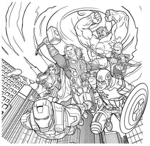 Avengers coloring pages copy aubrey free printables for Coloring pages of the avengers