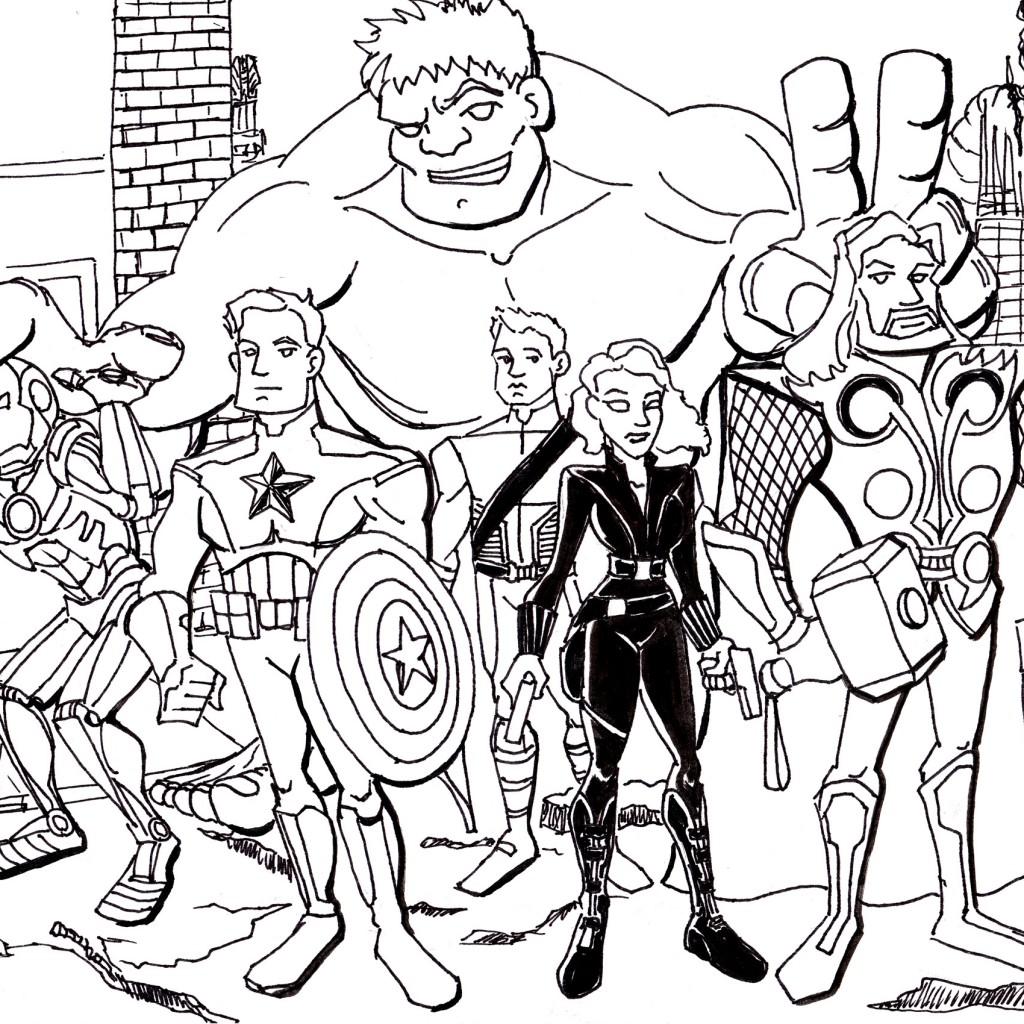 Thrilling adventure of superheroes Avengers 20 Avengers ...