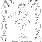 Best theatrical dance Ballet 20 Ballet coloring pages