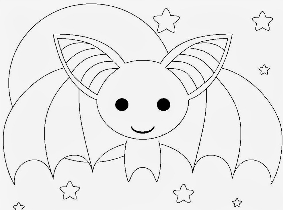 Dangerous creature Bat 18 Bat coloring pages Free Printables