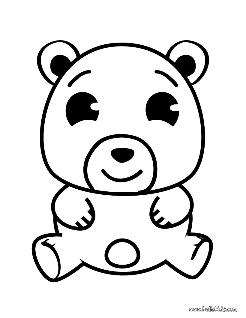 honey lover bear 20 bear coloring pages free printables