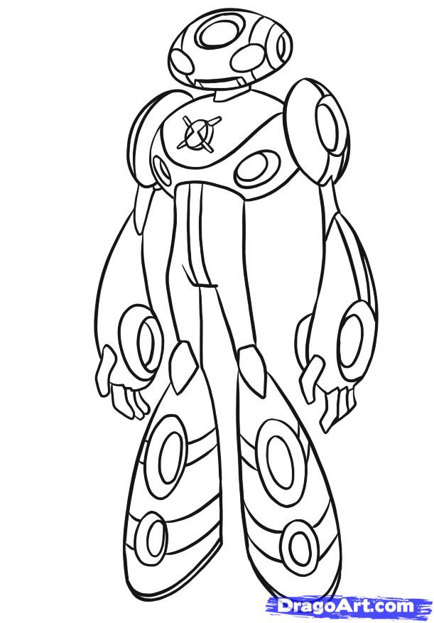 Ben 10 Coloring Pages PdfColoringPrintable Coloring Pages Free
