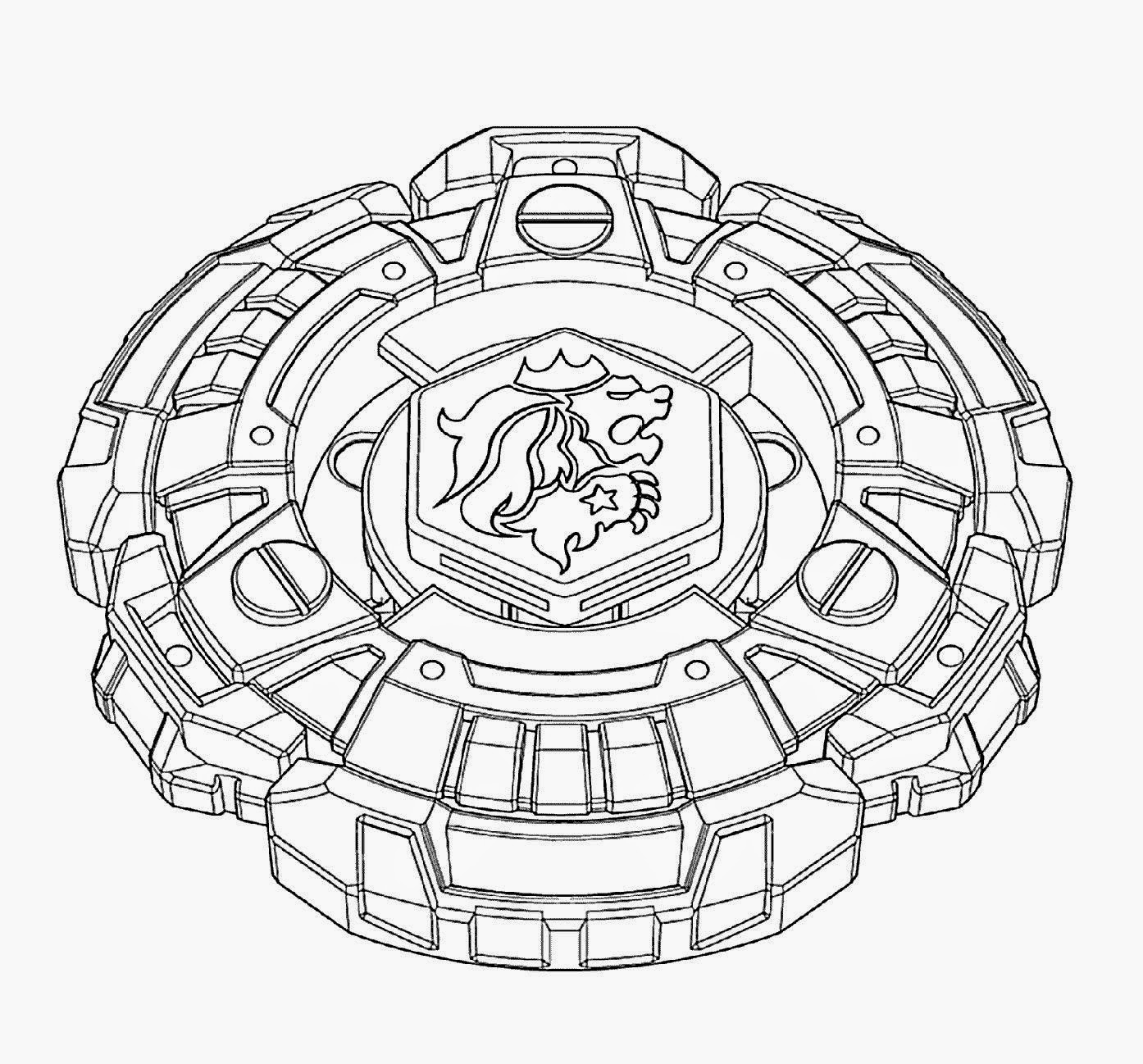 Beyblade Coloring Pages By Gabriel Free Printables