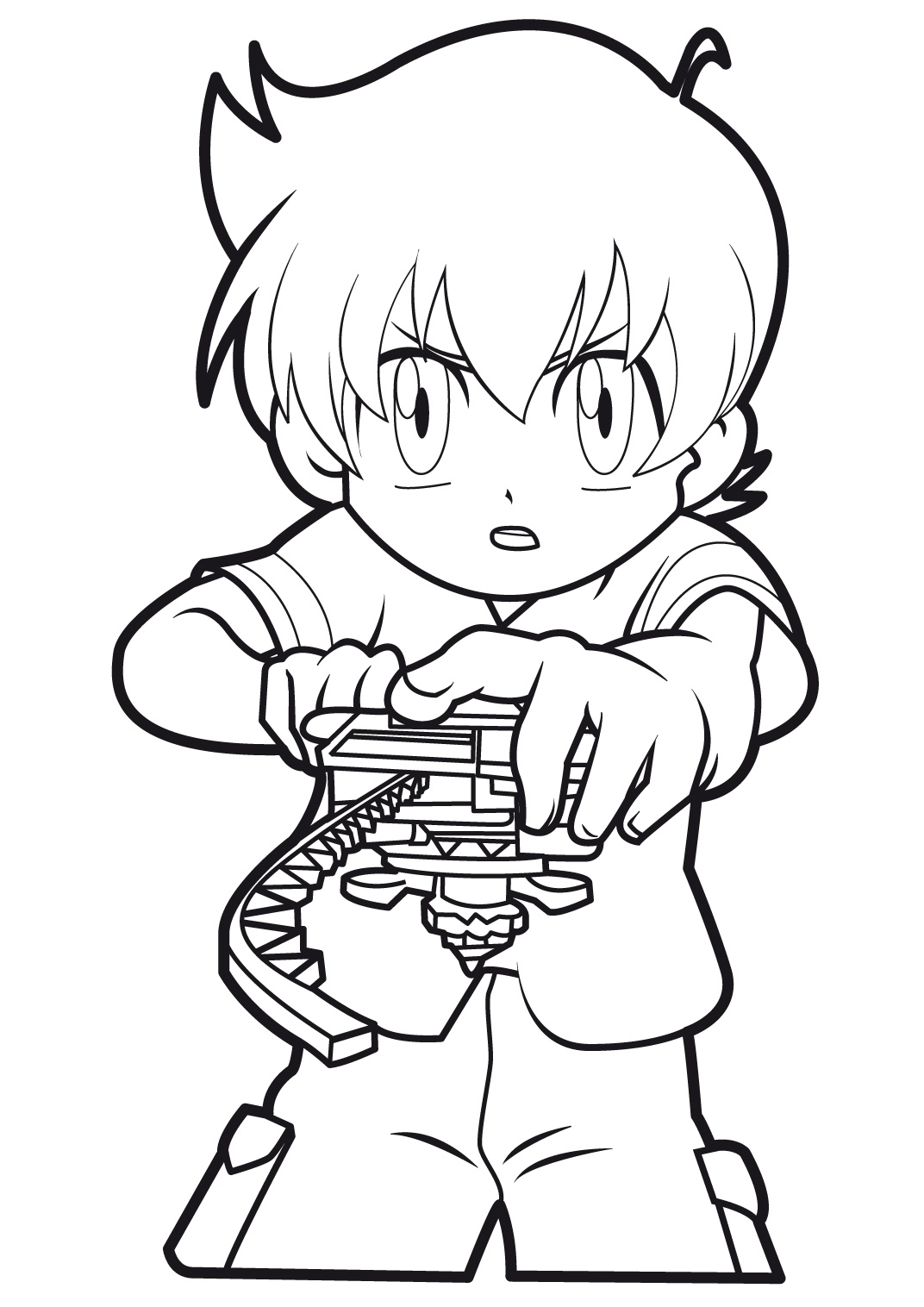 Hiro Granger coloring page