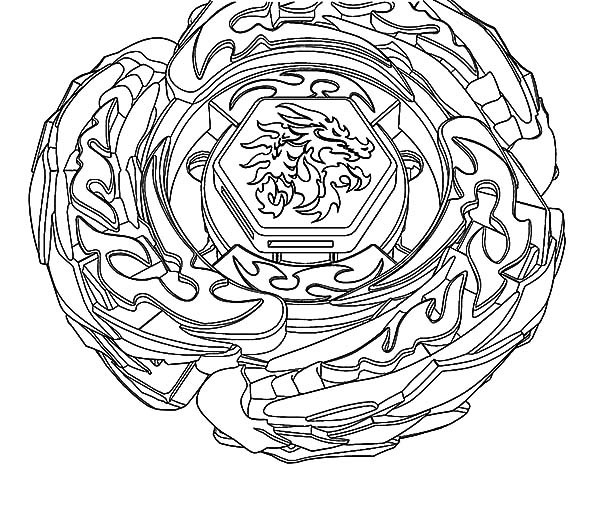 beyblade coloring pages gingka - photo#36
