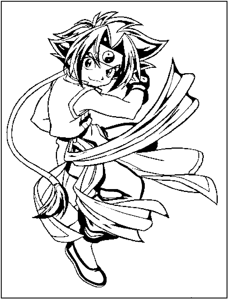 Action adventure of Beyblade 20 Beyblade coloring pages ...