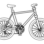 Safest transporter Bicycle 20 Bicycle coloring pages