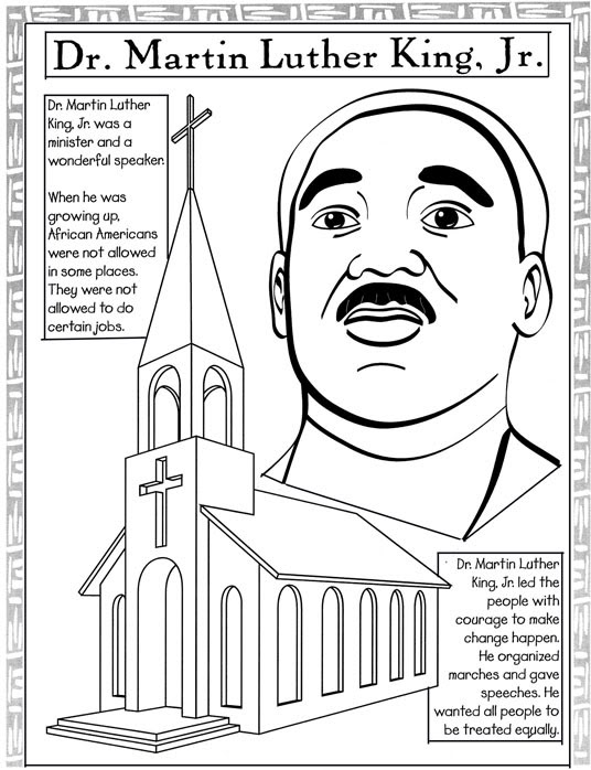 black-history-month coloring pics – Free Printables