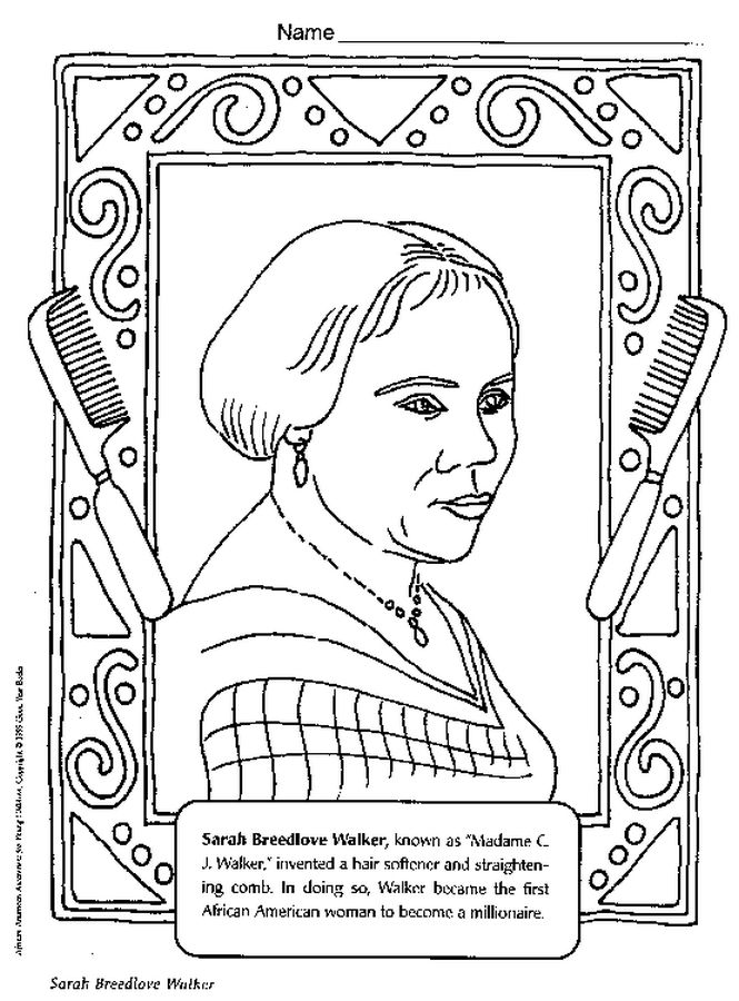 African American Printable Coloring Pages Coloring Coloring Pages