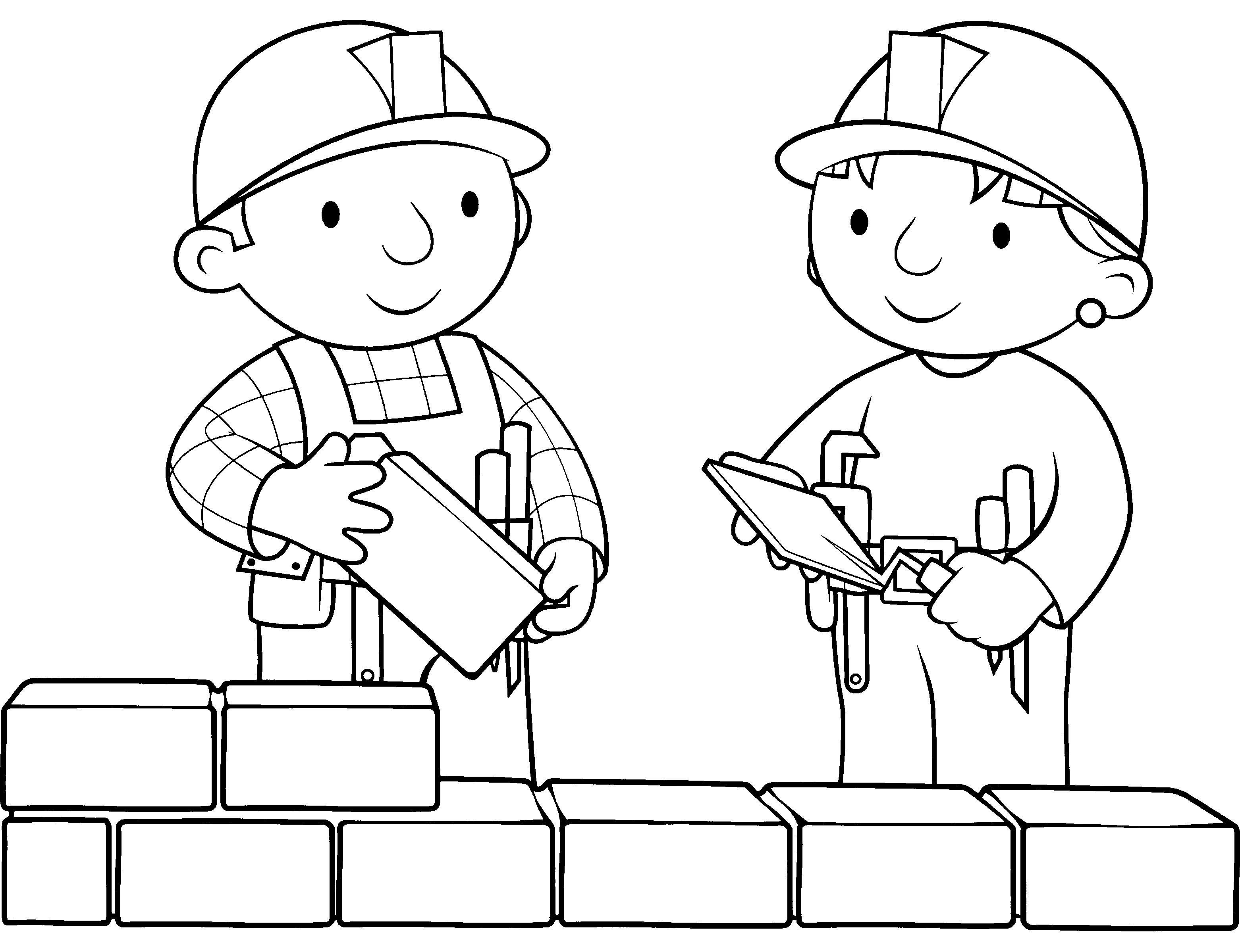 Bob The Builder Coloring Pages - Kidsuki