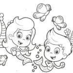 Underwater mermaid school Bubble Guppies 20 Bubble Guppies coloring pages
