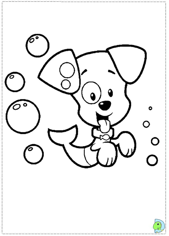 molly bubble guppies coloring pages-#15
