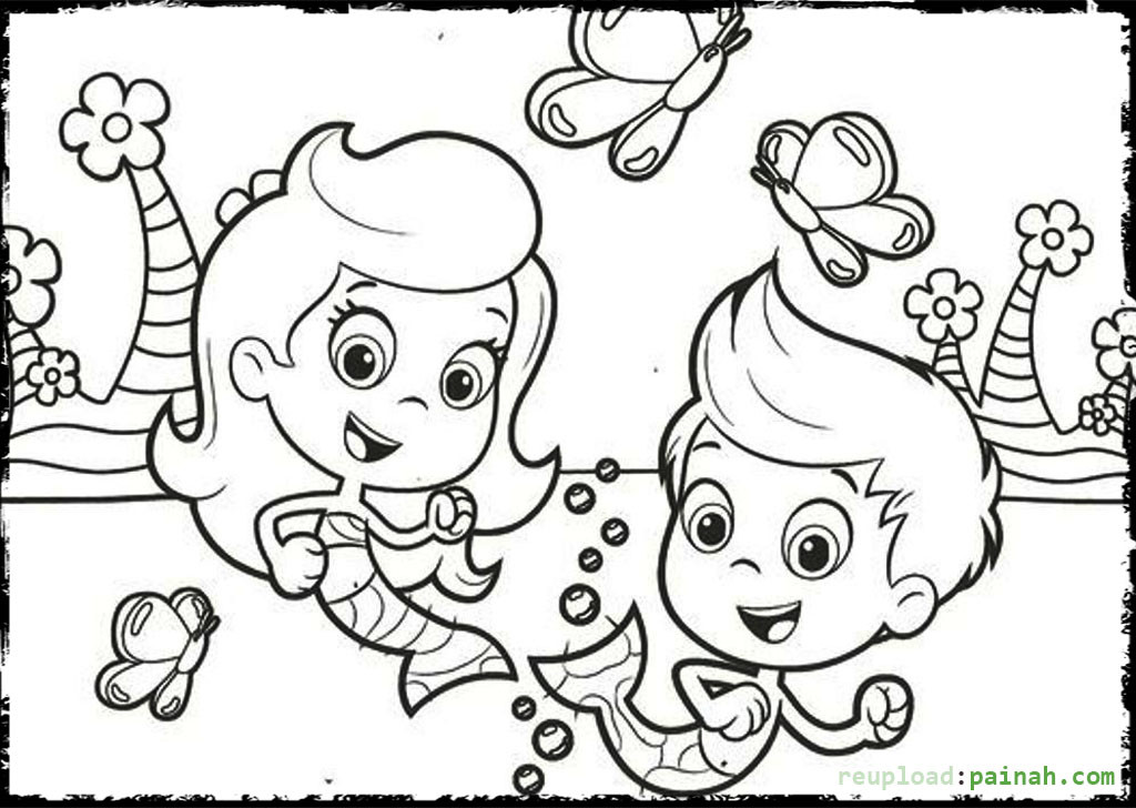 Bubble Guppies Coloring Book Games