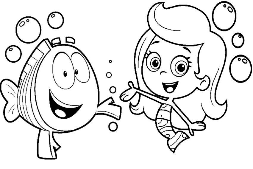underwater bubbles coloring pages - photo#42