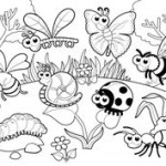Tiny creature Bug 20 Bug coloring pages