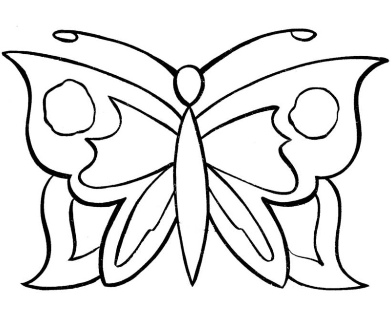 9700 Butterfly Coloring Pages That You Can Print  Images