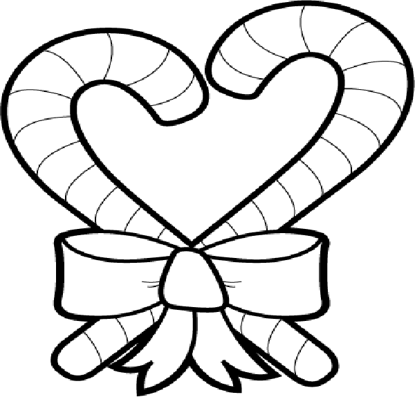 Candy can coloring page
