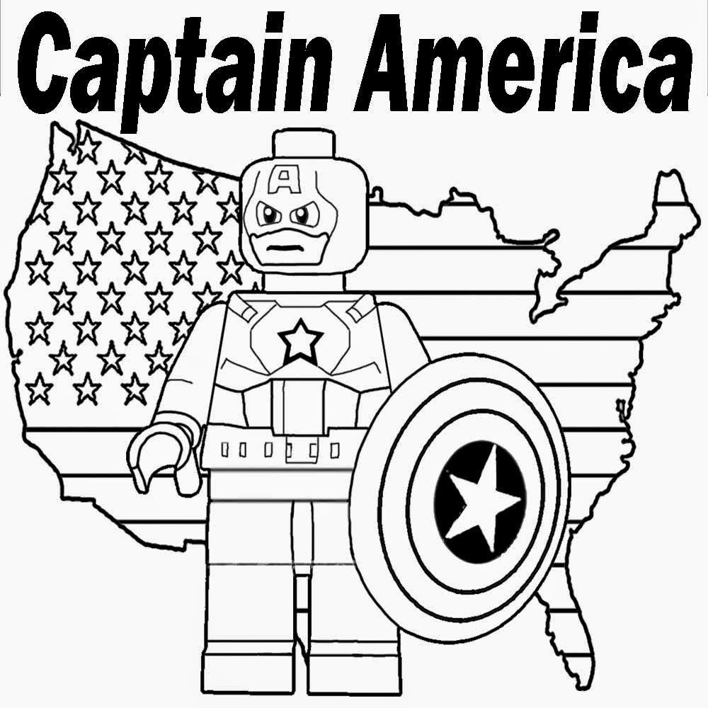 Captain America cartoon picture