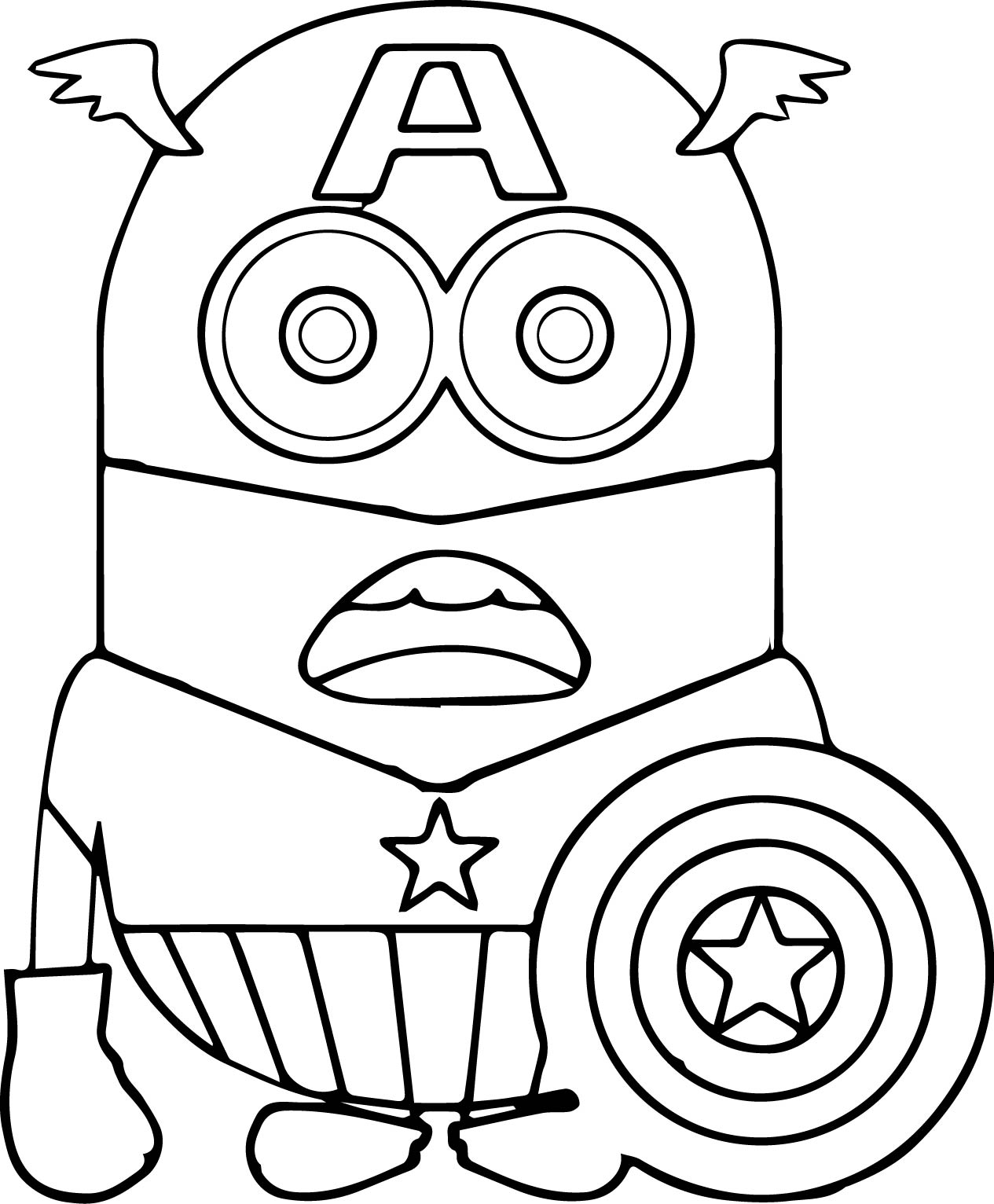 Iron Man 2 Coloring Pages Simple Ausmalbild Iron Man Voll Bepackt