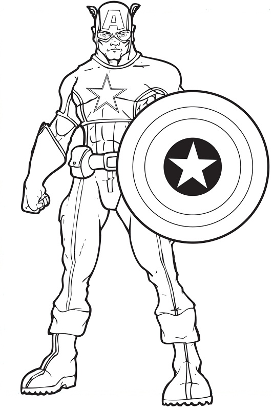 Captain America the ultimate hero