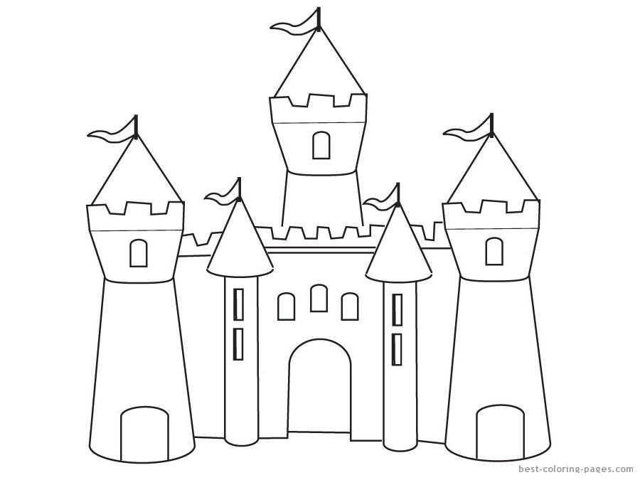 Experience the historic fantasy with Castle 20 Castle coloring ...